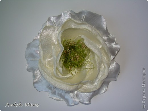 цветы из ткани фото 17