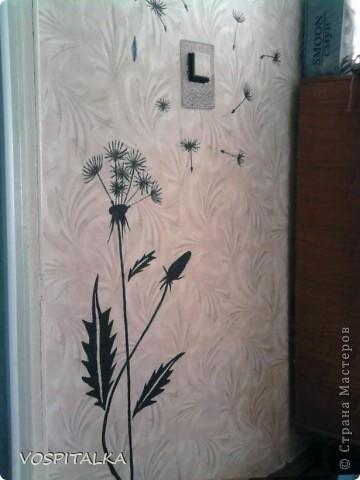 Весеннее настроение. Роспись стен и мебели фото 6