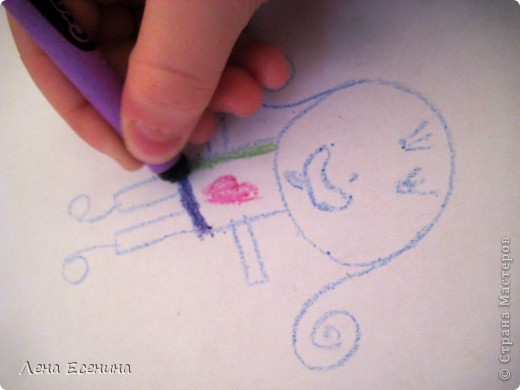 Предложите ребёнку нарисовать человека, дом, кошку, машину... любое другое  - вверх тормашками! Не так это просто, поверьте! Не верите? Попробуйте сначала сами! :)) фото 2