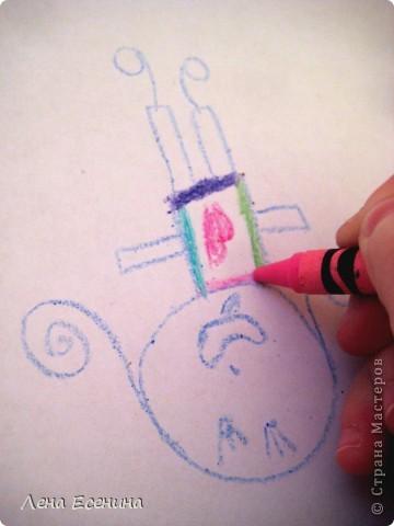 Предложите ребёнку нарисовать человека, дом, кошку, машину... любое другое  - вверх тормашками! Не так это просто, поверьте! Не верите? Попробуйте сначала сами! :)) фото 1