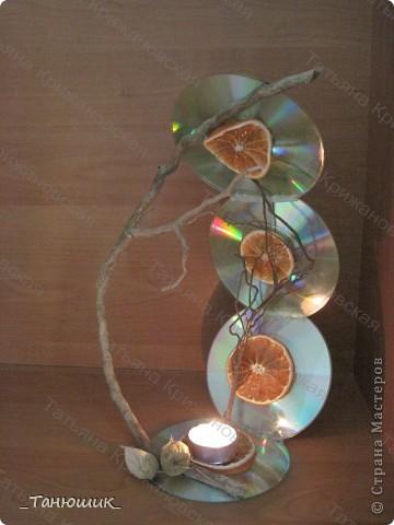 Оригинальные применения старым CD и DVD дискам  фото 1