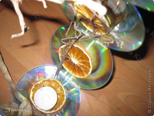 Оригинальные применения старым CD и DVD дискам  фото 3
