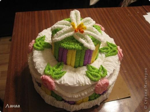 Проздничный торт фото 1