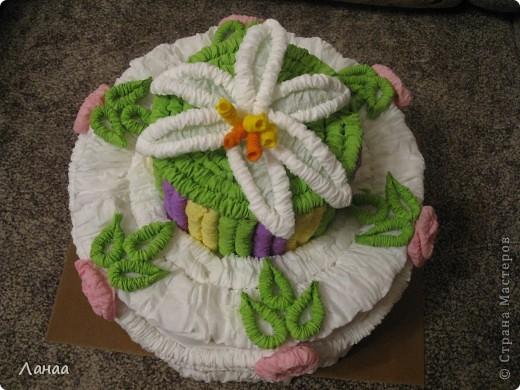 Проздничный торт фото 3