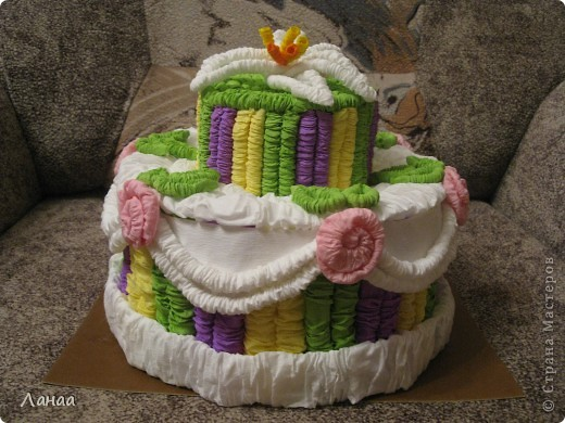 Проздничный торт фото 4