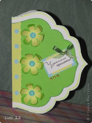 Увидела открыточку на этом сайте http://vimeo.com/22326034. Взяла лишь шаболон(сама от руки нарисовала). Остальное додумала сама, по настроению. фото 1