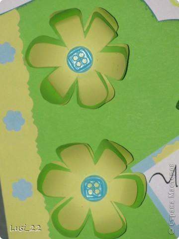 Увидела открыточку на этом сайте http://vimeo.com/22326034. Взяла лишь шаболон(сама от руки нарисовала). Остальное додумала сама, по настроению. фото 7