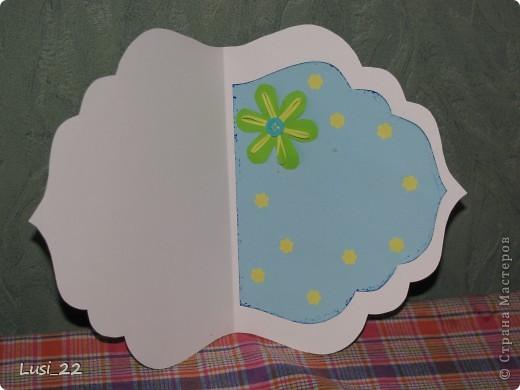 Увидела открыточку на этом сайте http://vimeo.com/22326034. Взяла лишь шаболон(сама от руки нарисовала). Остальное додумала сама, по настроению. фото 3