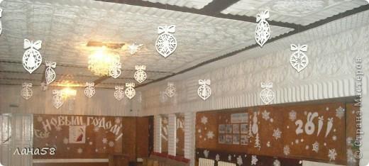 оформление  сельского дома культуры ,встреча 2010 г. офисная бумага,ватман, фото 3