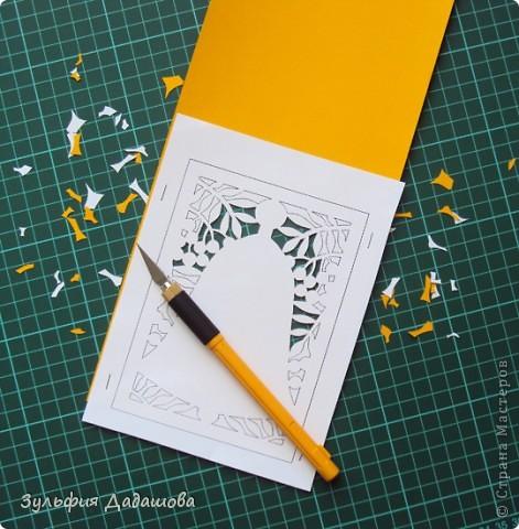 Такую открытку можно сделать к 1 сентября и ко Дню учителя фото 8