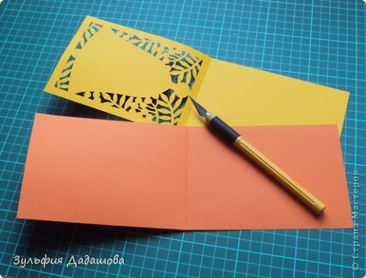 Такую открытку можно сделать к 1 сентября и ко Дню учителя фото 14