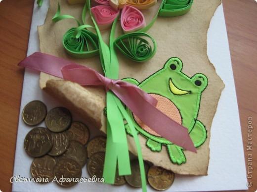 праздничная денежная лягушка фото 2