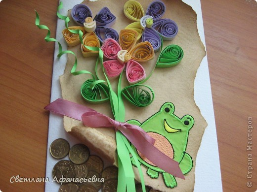 праздничная денежная лягушка фото 4