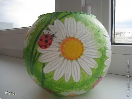 Так хочется солнышка, хотя бы в вазочках для цветов. фото 1