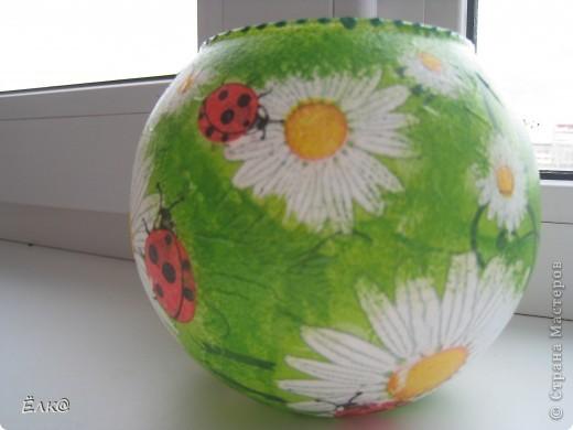 Так хочется солнышка, хотя бы в вазочках для цветов. фото 2