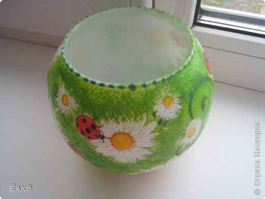 Так хочется солнышка, хотя бы в вазочках для цветов. фото 3
