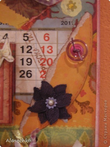 Вот такой календарь я сделала себе на работу фото 6