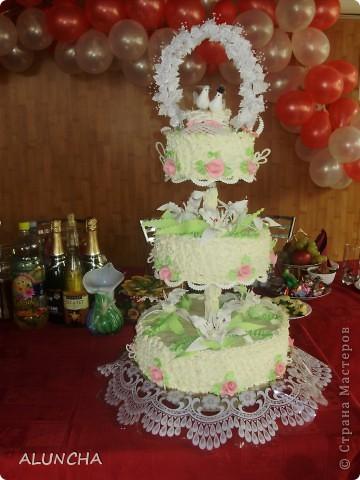 Cвадебный торт фото 1