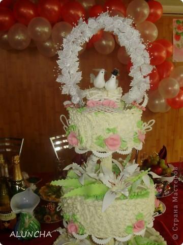 Cвадебный торт фото 2