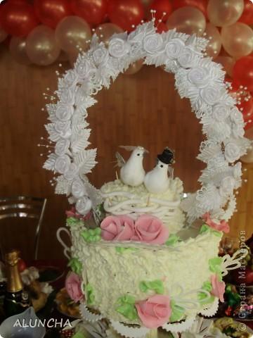 Cвадебный торт фото 3
