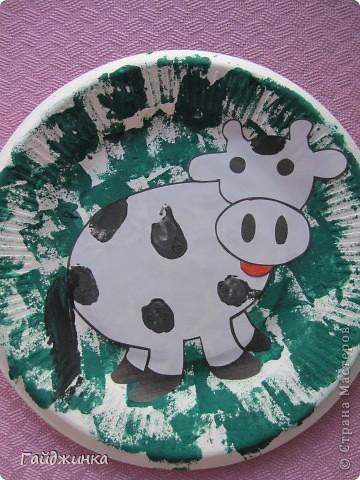 Вот и мы сделали этих чудесных коровок с детками от 1,5 до 3-ех лет. фото 2