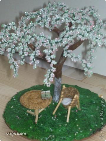 Вдохновленная мастерицами из СМ решила приобщиться и сделать подарок. Но хотелось сделать не просто дерево, а что-то больше. фото 1