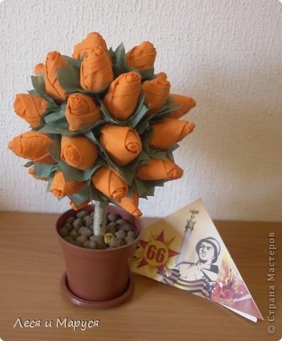Ещё одно деревце в подарок к дню ПОБЕДЫ! фото 1