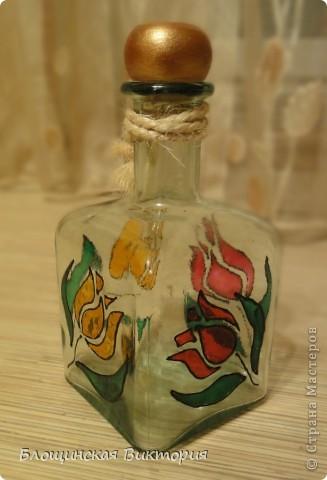 "Бутылка ""Тюльпаны"""