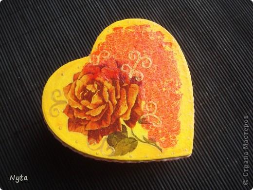 Еще один сюрпризик для сестры: шкатулка-сердце!  фото 1