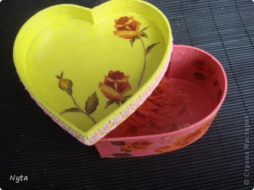 Еще один сюрпризик для сестры: шкатулка-сердце!  фото 3