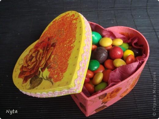 Еще один сюрпризик для сестры: шкатулка-сердце!  фото 4