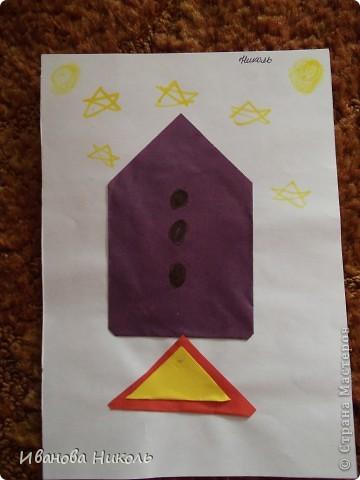 Ещё в детском саду на занятиях по оригами я сделала много работ. Очень хочется ими похвастаться. Все работы выполнены в возрасте от 4,5 до 6,5 лет. Моя мама всё сохранила и я имею возможность показать их а СТРАНЕ МАСТЕРОВ. Сейчас мне 7,5 лет. В скором времени надеюсь порадовать вас своими новыми работами. фото 2
