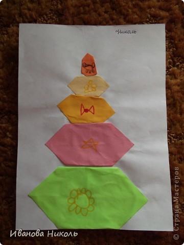 Ещё в детском саду на занятиях по оригами я сделала много работ. Очень хочется ими похвастаться. Все работы выполнены в возрасте от 4,5 до 6,5 лет. Моя мама всё сохранила и я имею возможность показать их а СТРАНЕ МАСТЕРОВ. Сейчас мне 7,5 лет. В скором времени надеюсь порадовать вас своими новыми работами. фото 9
