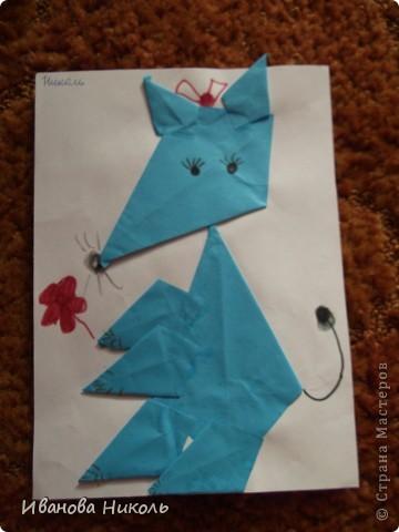 Ещё в детском саду на занятиях по оригами я сделала много работ. Очень хочется ими похвастаться. Все работы выполнены в возрасте от 4,5 до 6,5 лет. Моя мама всё сохранила и я имею возможность показать их а СТРАНЕ МАСТЕРОВ. Сейчас мне 7,5 лет. В скором времени надеюсь порадовать вас своими новыми работами. фото 11