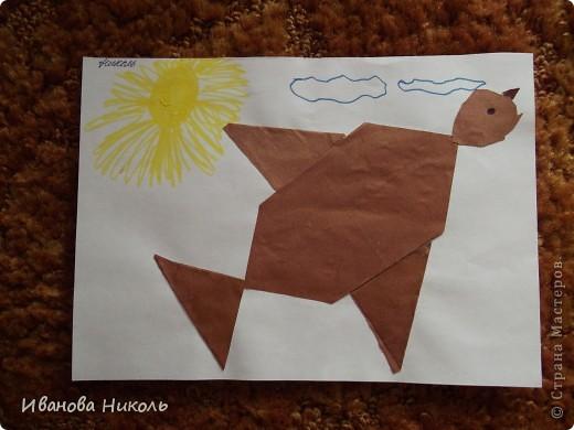 Ещё в детском саду на занятиях по оригами я сделала много работ. Очень хочется ими похвастаться. Все работы выполнены в возрасте от 4,5 до 6,5 лет. Моя мама всё сохранила и я имею возможность показать их а СТРАНЕ МАСТЕРОВ. Сейчас мне 7,5 лет. В скором времени надеюсь порадовать вас своими новыми работами. фото 14