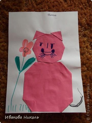 Ещё в детском саду на занятиях по оригами я сделала много работ. Очень хочется ими похвастаться. Все работы выполнены в возрасте от 4,5 до 6,5 лет. Моя мама всё сохранила и я имею возможность показать их а СТРАНЕ МАСТЕРОВ. Сейчас мне 7,5 лет. В скором времени надеюсь порадовать вас своими новыми работами. фото 15