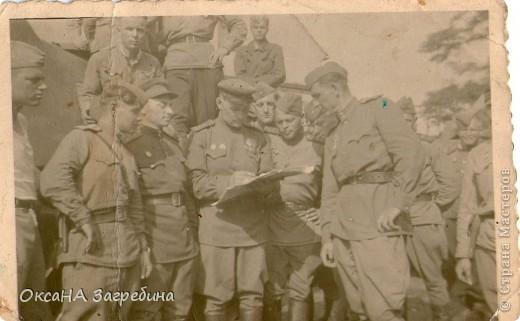 Знакомьтесь! Это - мой дед! Маркеев Василий Емельянович. На этом фото ему чуть больше 20 лет. Фотография сделана 27 марта 1943 г., когда дед обучался в Первой ульяновской краснознаменной танковой школе. фото 5