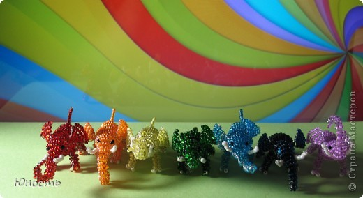 Вот таких слоников мы наплели! фото 3
