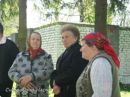 """Ученики около памятника """"Скорбящая мать"""" фото 10"""