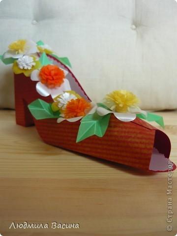 Весной расцветает буквально все, у меня расцвела туфелька - туфелька на шпильке. фото 4