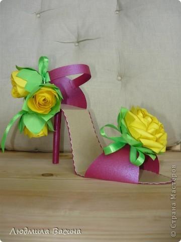 Весной расцветает буквально все, у меня расцвела туфелька - туфелька на шпильке. фото 1