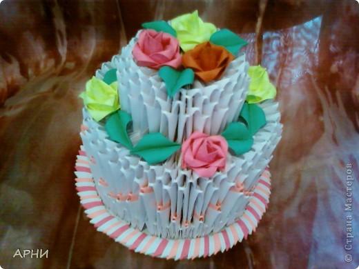 """Такой тортик """"испекла"""" мужу ко Дню рождения"""