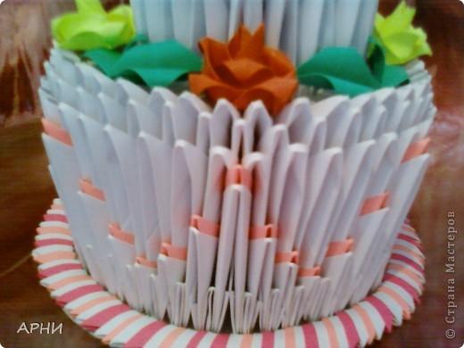 Поделка изделие День рождения Оригами