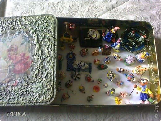 Вчера сделала домик для своей коллекции сказочных миниатюр. А сегодня новоселье. фото 2