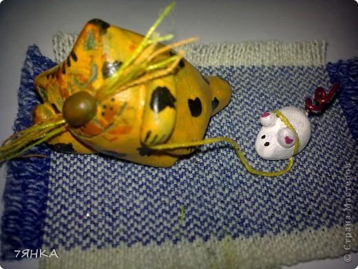 Вчера сделала домик для своей коллекции сказочных миниатюр. А сегодня новоселье. фото 5