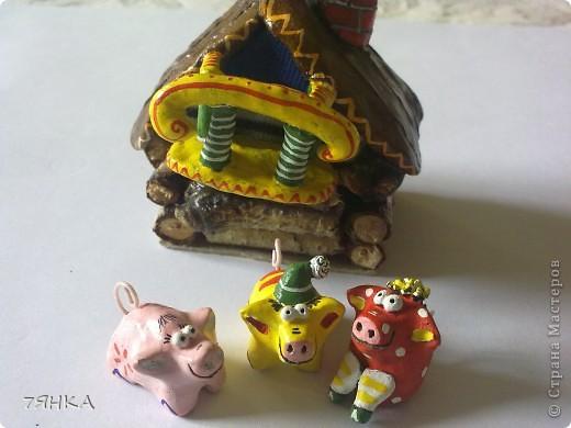 Вчера сделала домик для своей коллекции сказочных миниатюр. А сегодня новоселье. фото 18