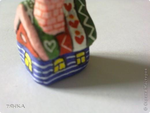 Вчера сделала домик для своей коллекции сказочных миниатюр. А сегодня новоселье. фото 26