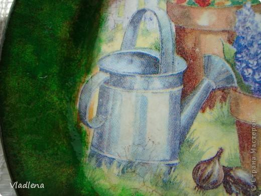 №1. Тарелочка керамическая D175мм, салфетка, акрил, кракелюр FERRARIO в паре с водным лаком. фото 10