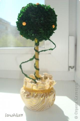 Ну вот и я  сделала деревце. фото 5