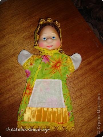 Наша куколка, теперь она стала лучшим другом деток в детском саду.  Сделать такую куклу не составит особого труда. Да и процесс доставляет только удовольствие. :) фото 1
